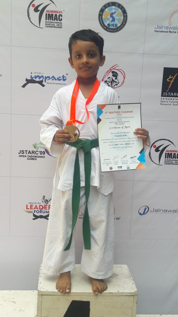 8th MAITREE CHASHAK competition 2019